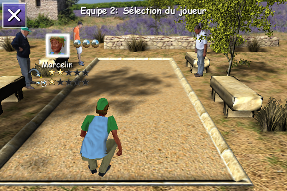 Screenshot 3D Petanque Tour